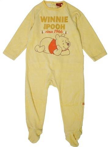 Pyjama 1 pièce garçon DISNEY jaune 3 ans hiver #1401348_1