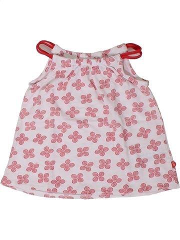 T-shirt sans manches fille OKAIDI rose 18 mois été #1401383_1