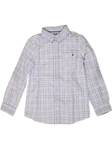 Camisa de manga larga niño OKAIDI blanco 8 años invierno #1401393_1