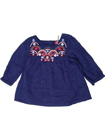 Blusa de manga larga niña ORCHESTRA azul 18 meses invierno #1401417_1