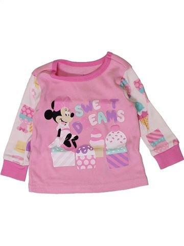 Camiseta de manga larga niña DISNEY rosa 9 meses invierno #1401422_1