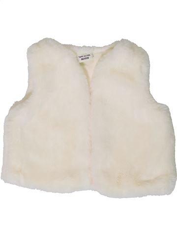 Chaleco niña TAPE À L'OEIL blanco 6 meses invierno #1401428_1