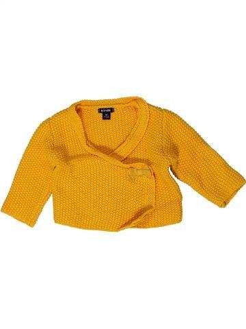Chaleco niña KIABI naranja 3 meses invierno #1401436_1