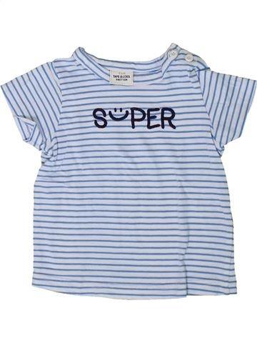 Camiseta de manga corta niño TAPE À L'OEIL gris 9 meses verano #1401441_1