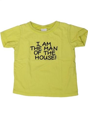 T-shirt manches courtes garçon ZARA vert 9 mois été #1401454_1