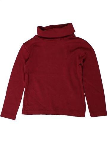 T-shirt col roulé garçon OKAIDI rouge 3 ans hiver #1401522_1