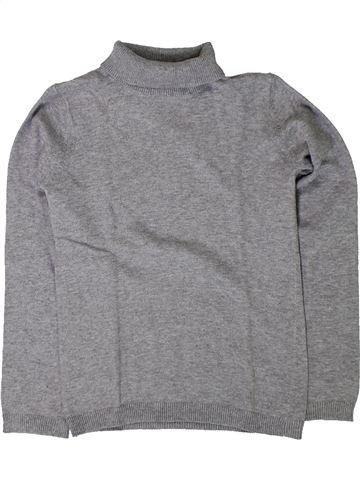 Pull fille MONOPRIX gris 5 ans hiver #1401590_1