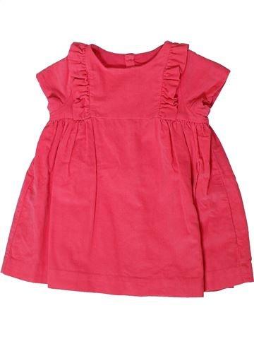 Vestido niña JACADI rosa 12 meses invierno #1401611_1