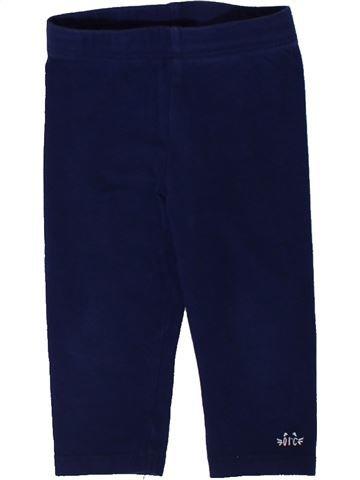 Legging fille ORCHESTRA violet 9 mois hiver #1401628_1