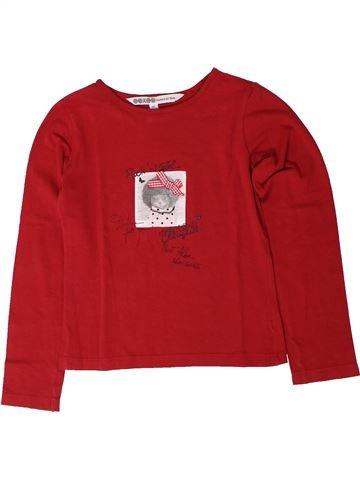 Camiseta de manga larga niña OOXOO rojo 8 años invierno #1401643_1