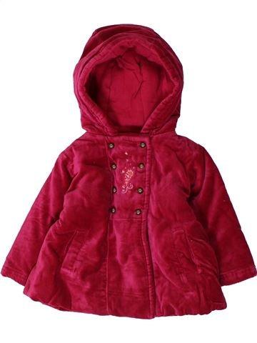 Abrigo niña TOUT COMPTE FAIT rojo 6 meses invierno #1401656_1