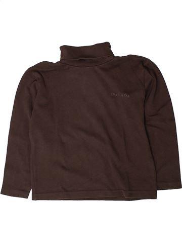T-shirt col roulé garçon ORCHESTRA marron 7 ans hiver #1401676_1
