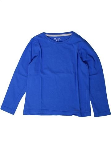 T-shirt manches longues garçon DPAM bleu 4 ans hiver #1401767_1