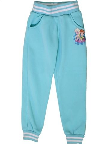 Pantalon fille DISNEY bleu 6 ans hiver #1401828_1