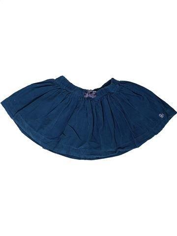 Jupe fille OKAIDI bleu 2 ans hiver #1401883_1
