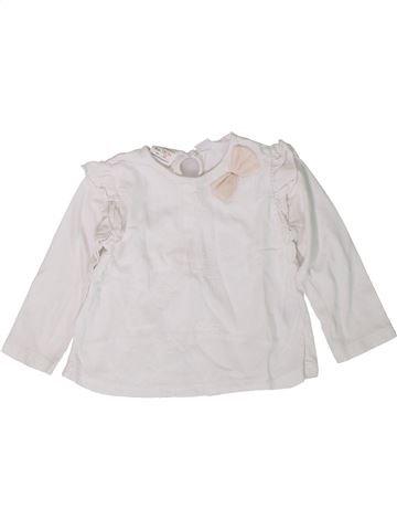 Camiseta de manga larga niña ZARA blanco 2 años invierno #1401897_1