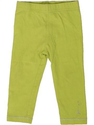 Legging fille ORCHESTRA vert 12 mois hiver #1401916_1