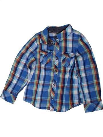 Camisa de manga larga niño ORCHESTRA azul 3 años invierno #1401956_1