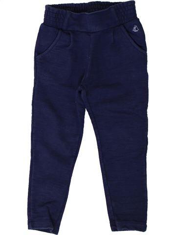 Pantalón niña PETIT BATEAU violeta 3 años invierno #1402004_1