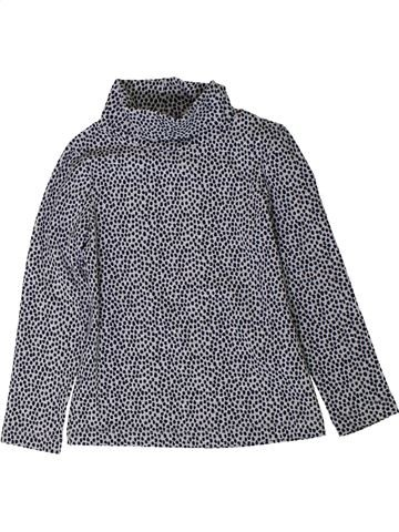T-shirt col roulé fille MONOPRIX gris 3 ans hiver #1402009_1