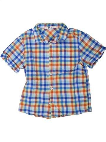 Chemise manches courtes garçon H&M gris 5 ans été #1402024_1