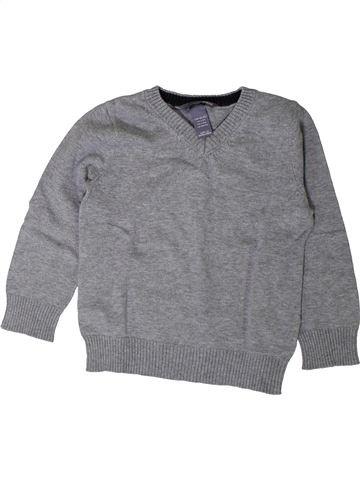 Pull garçon H&M gris 2 ans hiver #1402037_1