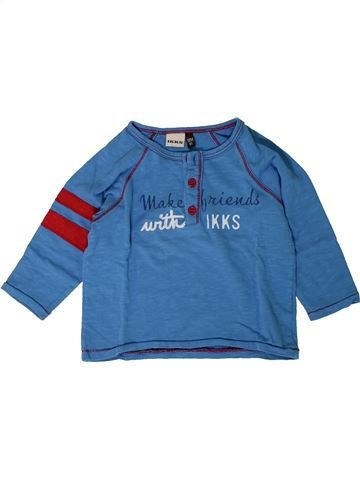 Camiseta de manga larga niño IKKS azul 18 meses invierno #1402043_1