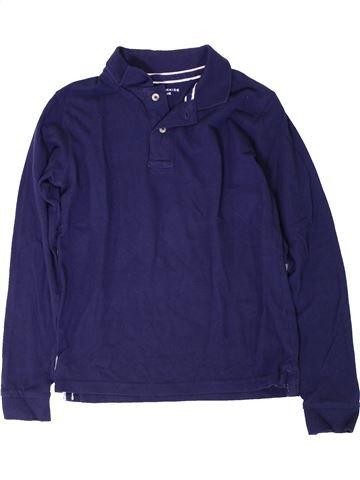 Polo manches longues garçon MONOPRIX bleu 12 ans hiver #1402049_1