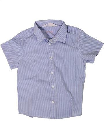 Camisa de manga corta niño H&M azul 3 años verano #1402076_1