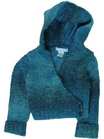 Gilet fille ORCHESTRA bleu 6 mois hiver #1402086_1