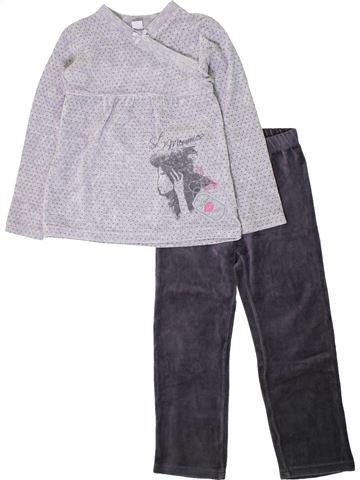 Pyjama 2 pièces fille ABSORBA bleu 6 ans hiver #1402103_1