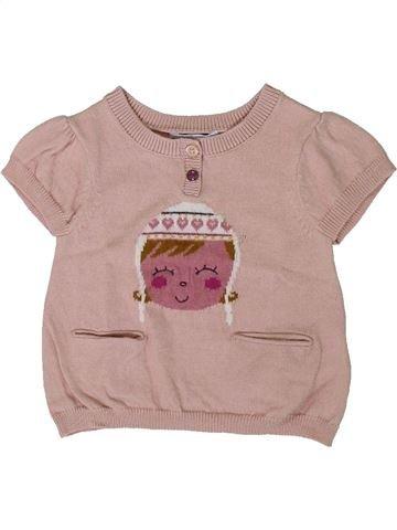 jersey niña VERTBAUDET rosa 3 meses invierno #1402116_1