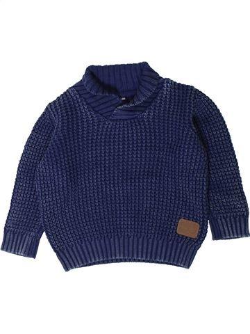 Pull garçon KIABI bleu 2 ans hiver #1402141_1