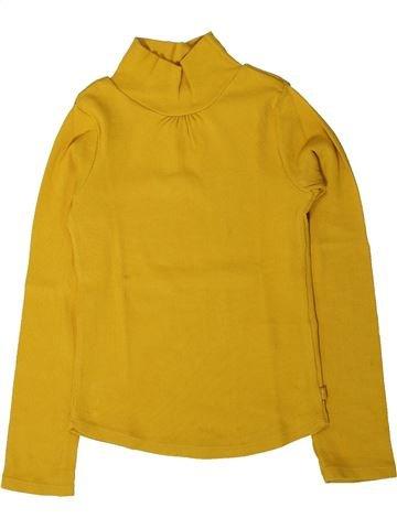 Camiseta de manga larga niña OKAIDI amarillo 6 años invierno #1402162_1