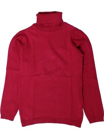 Pull fille DPAM rouge 6 ans hiver #1402188_1