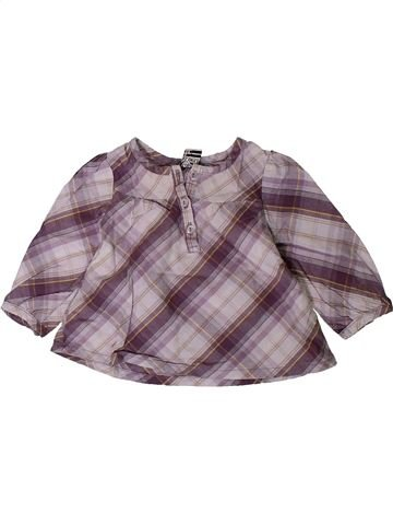 Blusa de manga larga niña TAPE À L'OEIL gris 6 meses invierno #1402211_1