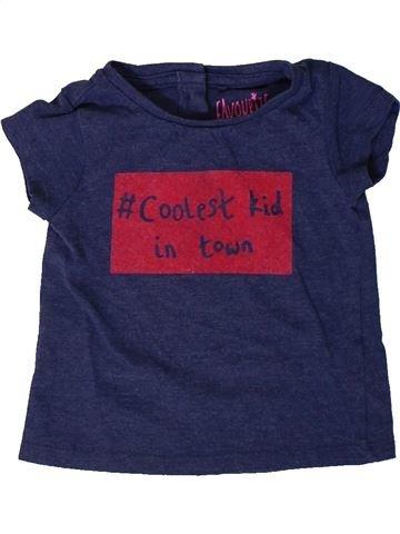T-shirt manches courtes fille NEXT bleu 9 mois été #1402244_1