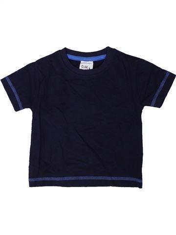 T-shirt manches courtes garçon BABY noir 18 mois été #1402342_1