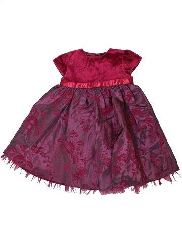 Robe fille MAMAS & PAPAS violet 18 mois hiver #1402423_1