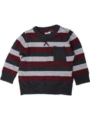 jersey niño F&F marrón 18 meses invierno #1402471_1