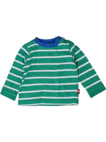 T-shirt manches longues garçon MOTHERCARE vert 6 mois hiver #1402588_1