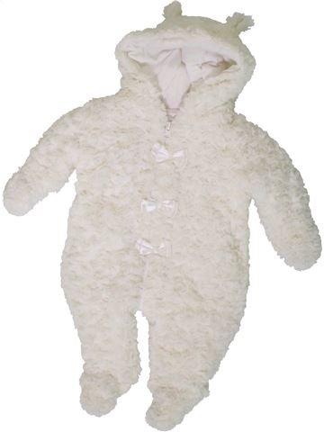Mono-polar niña PITTER PATTER blanco 3 meses invierno #1402679_1
