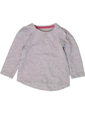 Camiseta de manga larga niña MOTHERCARE gris 12 meses invierno #1402708_1