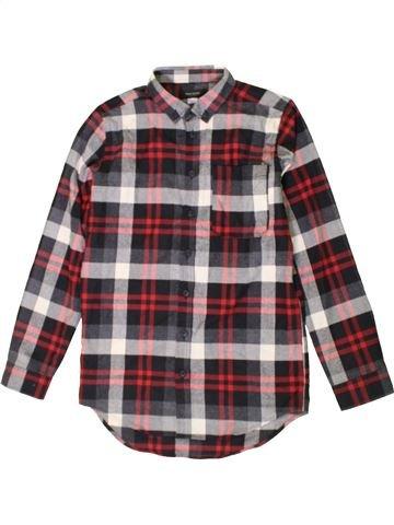 Chemise manches longues garçon RIVER ISLAND marron 11 ans hiver #1402720_1