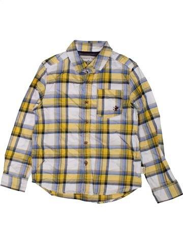 Chemise manches longues garçon NEXT beige 6 ans hiver #1402770_1