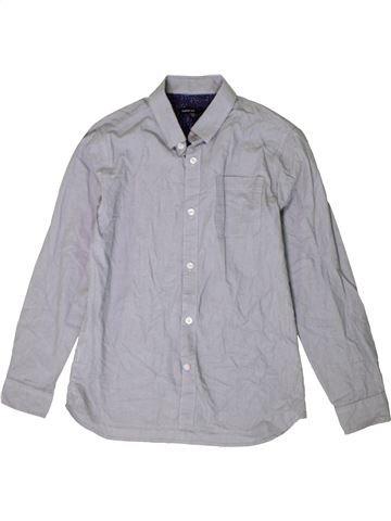 Camisa de manga larga niño MARKS & SPENCER gris 12 años invierno #1402777_1