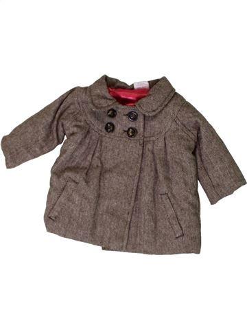Abrigo niña MINI CLUB marrón 3 meses invierno #1402790_1