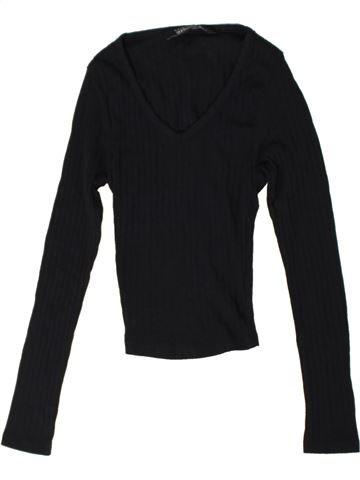 Camiseta de manga larga niña NEW LOOK negro 11 años invierno #1402799_1