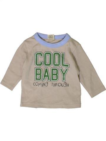 Camiseta de manga larga niño TINY TED gris 3 meses invierno #1402889_1