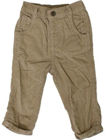 Pantalón niño M&CO marrón 9 meses invierno #1402890_1